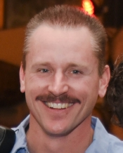 Up Close pic showing the how far I have come from my first years of mustache growing. I must say, while not necessarily