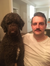 This mustache is poodle approved.