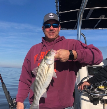 Shave Day 2020 - Celebrating the M4K Kickoff doing a little Rockfishing (Striper)..  LET'S GROW THIS THING!